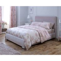 See more information about the Catherine Lansfield Heritage Classic Pink 4ft Queen Size Bed Frame