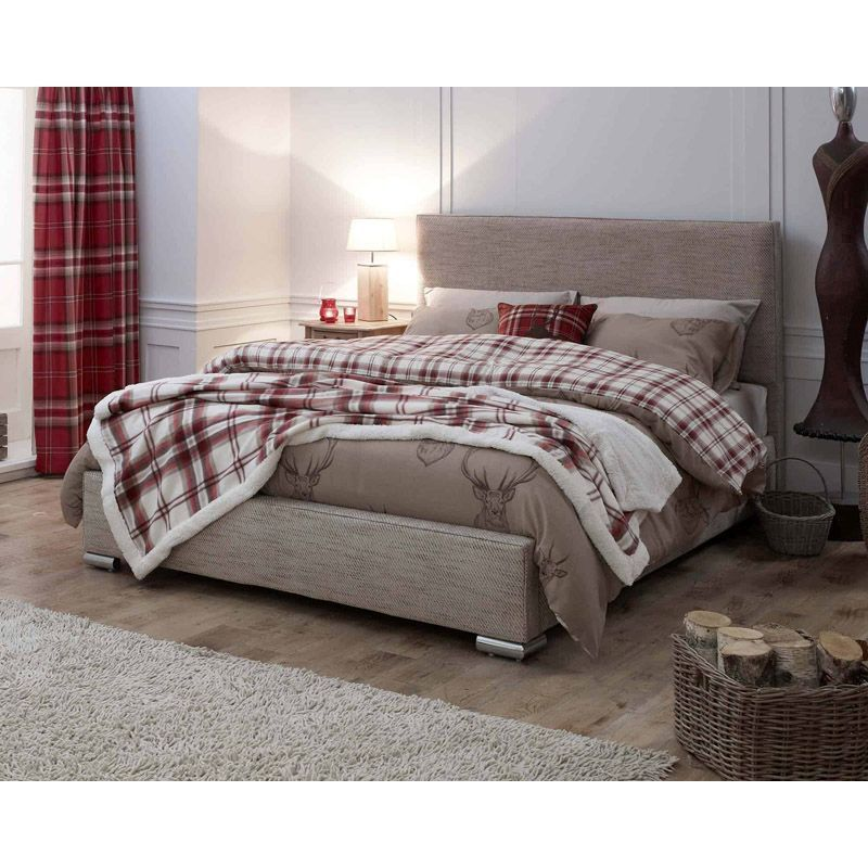 Lansfield Heritage Classic Pine Brown 6ft Super King Size Bed Frame