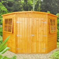 See more information about the Shire Corner Shiplap Garden Shed 7' x 7'