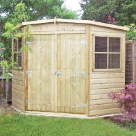 See more information about the Shire Shiplap Pressure Treated Garden Shed 8' x 8'