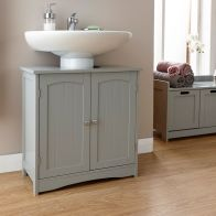See more information about the Colonial Underbasin Cabinet Grey 2 Door