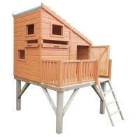 See more information about the Shire Command Post & Platform Garden Playhouse (6' x 4')