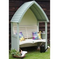 See more information about the AFK Premium Cottage Arbour Heritage Sage & Cream 2 Seat