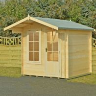 See more information about the Shire Crinan 19mm Garden Log Cabin 7' x 7'
