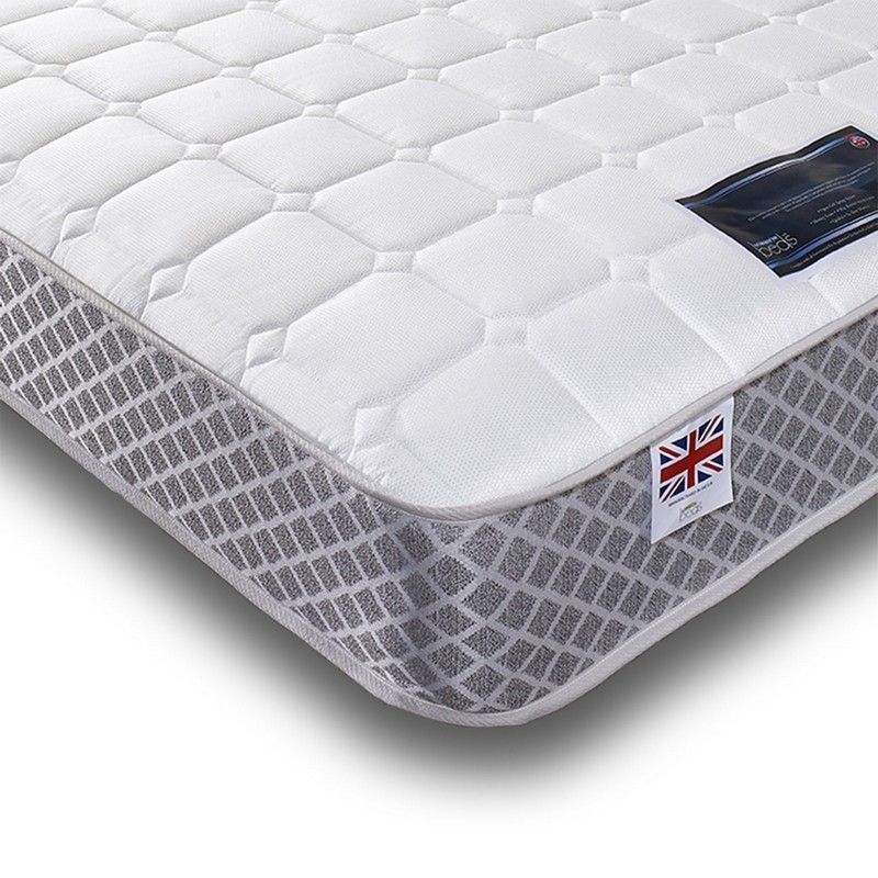Crystal Super Coil Memory Mattress King Size Medium Soft