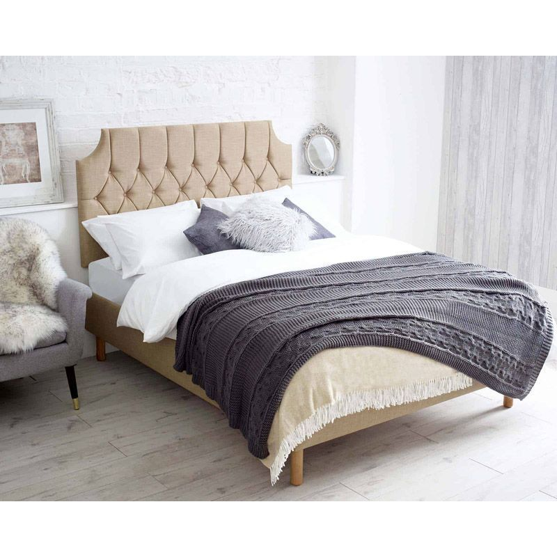 Castleton Brown 4ft Small Double Bed Frame