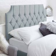 See more information about the Castleton Blue 6ft Super King Size Bed Headboard