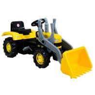 See more information about the Dolu Children Ride On Yellow Digger With Shovel Loader Age 3+ Years