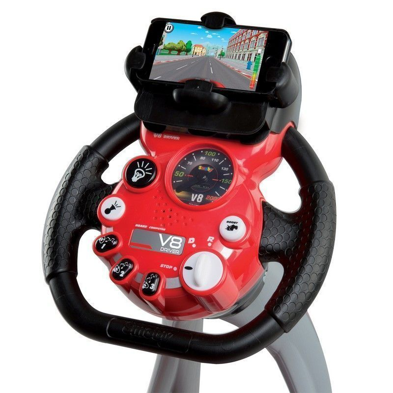 Smoby Driving Simulator Seat Real Sound Mobile Application