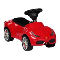 See more information about the Ferrari 458 Licenced Push Along Ride On Car Foot To Floor