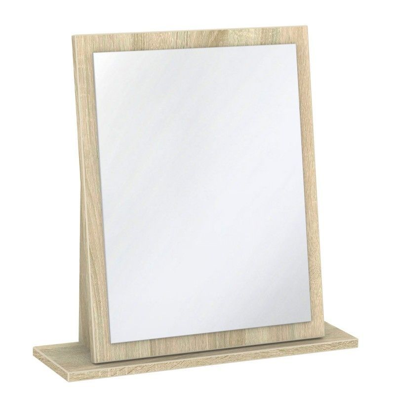 Buxton Mirror Brown Small