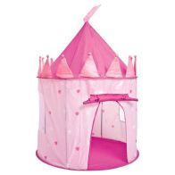 See more information about the Pink Princess Castle Play Tent Indoor Outdoor