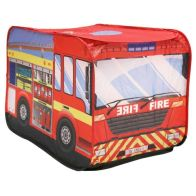 See more information about the Fire Engine Play Tent Indoor Outdoor Polyester Pop Up