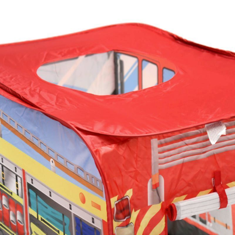 Additional Product Image  sc 1 st  QD Stores & Fire Engine Play Tent Indoor Outdoor Polyester Pop Up - Buy Online ...