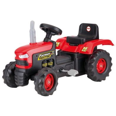 Dolu Ride On Red Tractor Pedal Operated Toy Age 3+ Years
