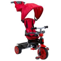 See more information about the Trikestar Deluxe 4 In 1 Pedal Trike Canopy - Red