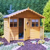 See more information about the Shire Cubby Garden Playhouse 6' x 4'