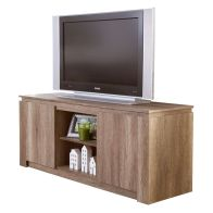 See more information about the Canyon Melamine Oak Finish 2 Door 2 Shelf TV Unit