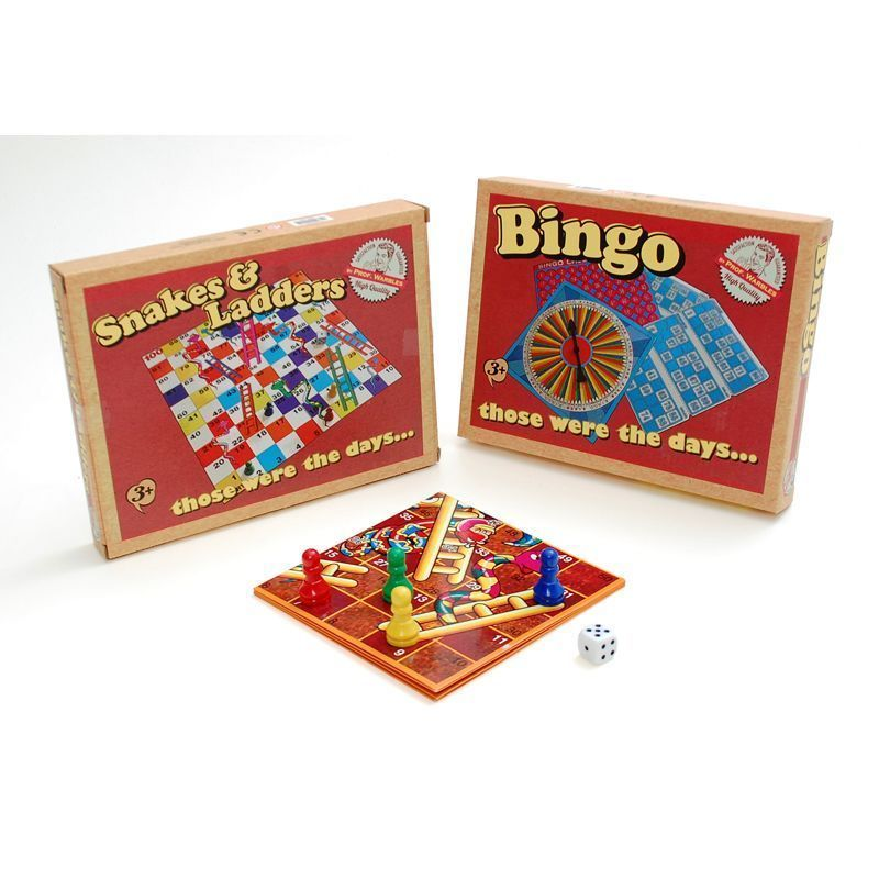 Retro Snakes and Ladders/Bingo Game
