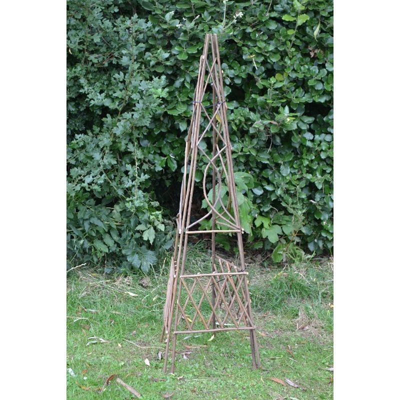 Willow 3 Panel Obelisk (120cm x 32cm)