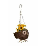 See more information about the Owl Hanging Garden Planter
