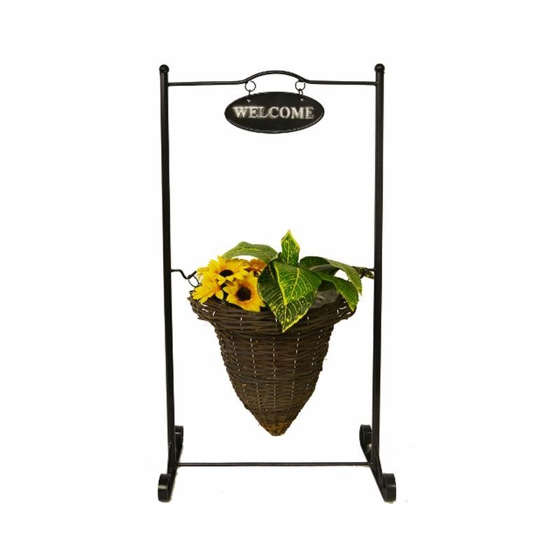 "Welcome Stand Planter (12"")"