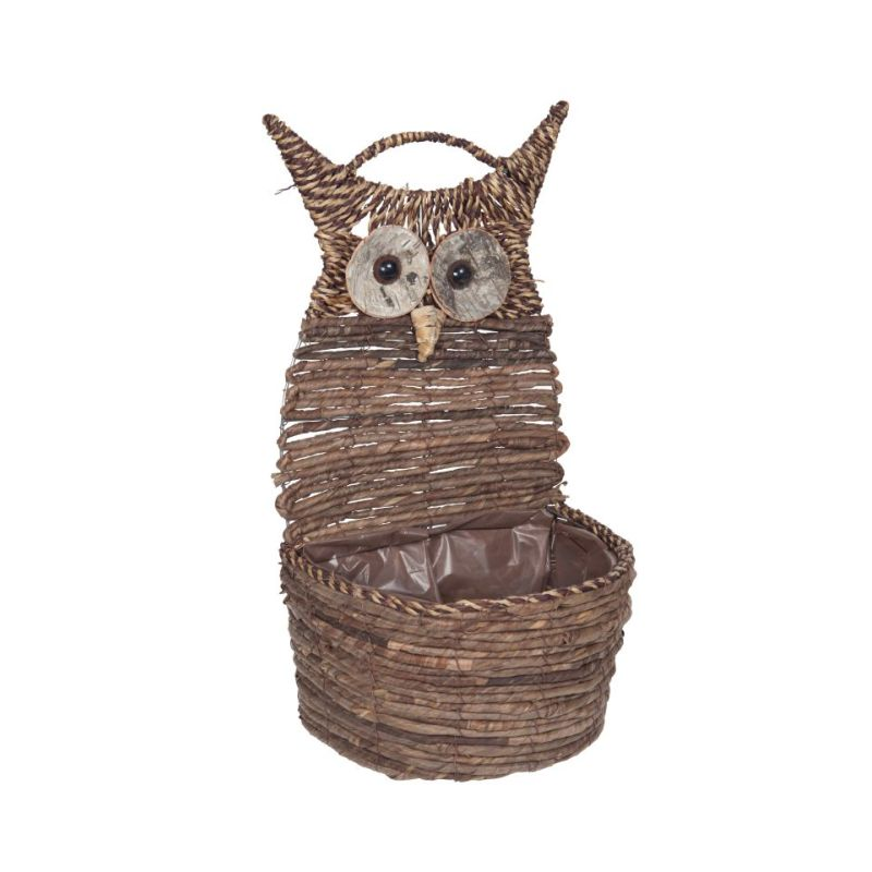 Wise Owl Standing Planter