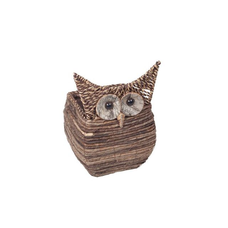 Wise Owl Square Planter