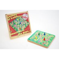 See more information about the Retro Snakes and Ladders Game