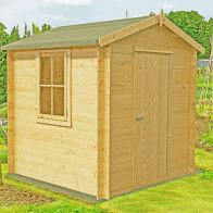 See more information about the Shire Danbury Garden Log Cabin 19mm (7' x 7')