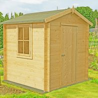 See more information about the Shire Danbury Garden Log Cabin 19mm (8' x 8')