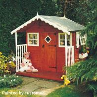 See more information about the Shire Den Garden Playhouse (6' x 6')