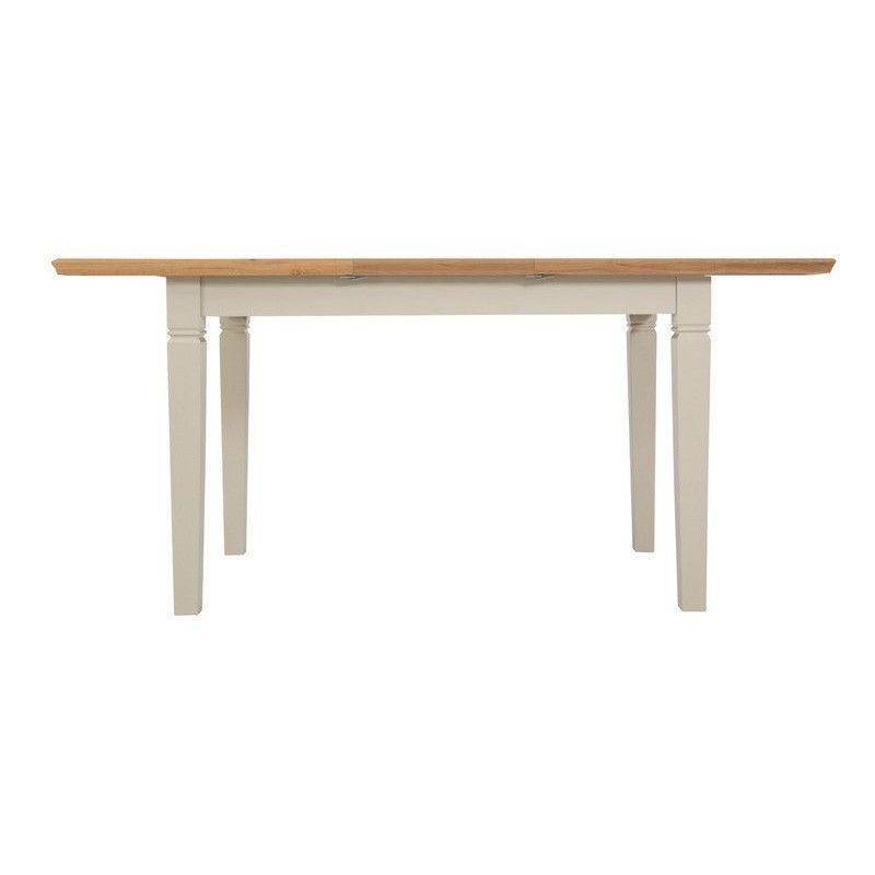 Country Cottage Oak 1.25m - 1.65m Extending Dining Table