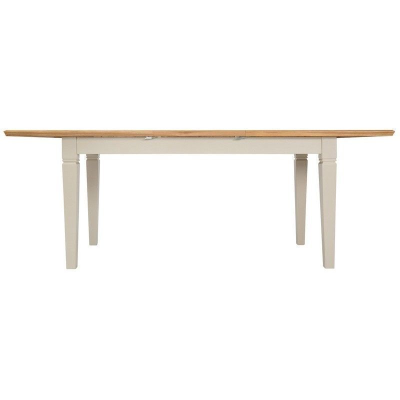 Country Cottage Oak 1.6m - 2.1m Extending Dining Table