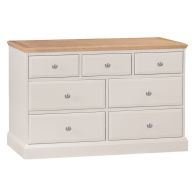 See more information about the Country Cottage Oak 7 Drawer Chest
