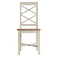 See more information about the Country Cottage Oak Dining Chair