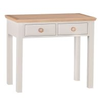 See more information about the Country Cottage Oak 2 Drawer Dressing Table