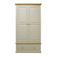See more information about the Country Cottage 2 Door 1 Drawer Gents Robe