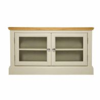 See more information about the Country Cottage Oak 2 Door TV Cabinet