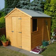 See more information about the Shire Durham Shiplap Garden Shed 8' x 6'