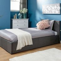 See more information about the Winston End Lift Single Ottoman Bed Grey