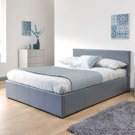 See more information about the Winston 5ft King Size Ottoman Bed Grey