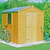 See more information about the Shire Faroe Apex Garden Shed 6' x 6'