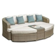 See more information about the Tuscany Toronto Garden Daybed Brown
