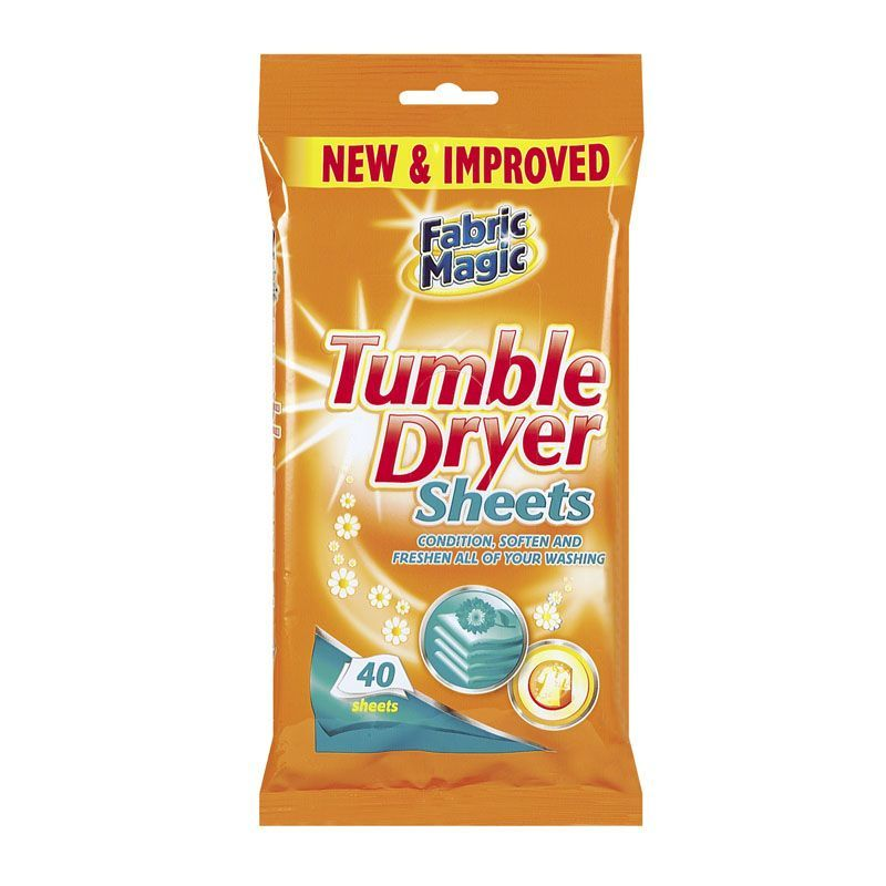 Dry cleaning sheets for tumble dryer