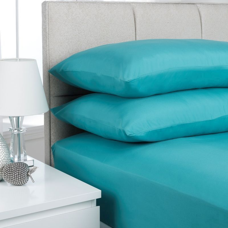 Fusion 2 Pack Pillow Case Teal