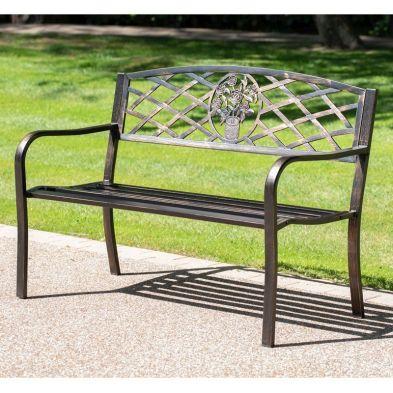 Coalbrookdale Garden Bench Bronze