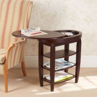 See more information about the Swivel Top Table Mahogany