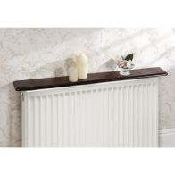 "See more information about the 48"" Radiator Shelf Mahogany"
