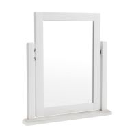 See more information about the Ava Oak Trinket Mirror White